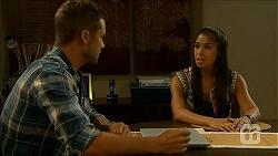 Mark Brennan, Sienna Matthews in Neighbours Episode 6878