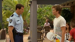 Matt Turner, Daniel Robinson in Neighbours Episode 6878