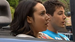 Imogen Willis, Chris Pappas in Neighbours Episode 6878
