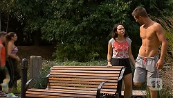 Imogen Willis, Mark Brennan in Neighbours Episode 6879