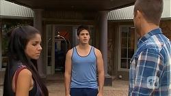 Sienna Matthews, Chris Pappas, Mark Brennan in Neighbours Episode 6879