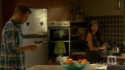 Mark Brennan, Sienna Matthews in Neighbours Episode 6879