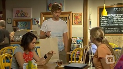 Imogen Willis, Daniel Robinson, Amber Turner in Neighbours Episode 6879