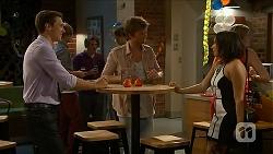 Josh Willis, Daniel Robinson, Imogen Willis in Neighbours Episode 6879
