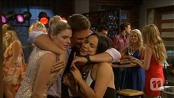 Amber Turner, Josh Willis, Imogen Willis in Neighbours Episode 6879
