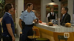 Brad Willis, Matt Turner, Daniel Robinson, Paul Robinson in Neighbours Episode 6880