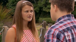 Josie Lamb, Callum Rebecchi in Neighbours Episode 6880