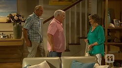 Doug Willis, Lou Carpenter, Pam Willis in Neighbours Episode 6880