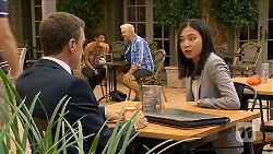 Paul Robinson, Tracey Wong in Neighbours Episode 6882