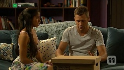 Sienna Matthews, Mark Brennan in Neighbours Episode 6883