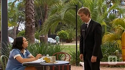 Imogen Willis, Daniel Robinson in Neighbours Episode 6883