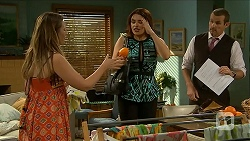 Sonya Mitchell, Naomi Canning, Toadie Rebecchi in Neighbours Episode 6883