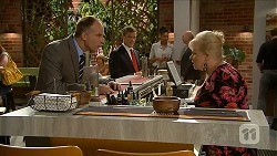 Charles Tranner, Paul Robinson, Sheila Canning in Neighbours Episode 6883