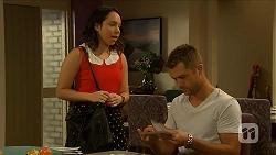 Imogen Willis, Mark Brennan in Neighbours Episode 6883
