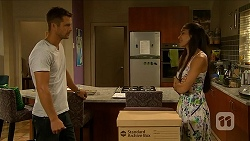Mark Brennan, Sienna Matthews in Neighbours Episode 6883
