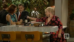 Naomi Canning, Paul Robinson, Sheila Canning in Neighbours Episode 6883