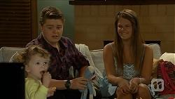 Nell Rebecchi, Callum Rebecchi, Josie Lamb in Neighbours Episode 6884