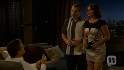Paul Robinson, Toadie Rebecchi, Naomi Canning in Neighbours Episode 6884