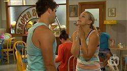 Chris Pappas, Georgia Brooks in Neighbours Episode 6885