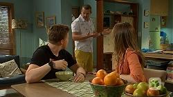 Callum Jones, Toadie Rebecchi, Sonya Mitchell in Neighbours Episode 6887