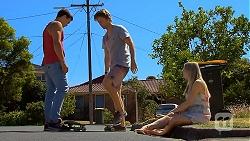 Josh Willis, Daniel Robinson, Amber Turner in Neighbours Episode 6887
