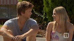 Daniel Robinson, Amber Turner in Neighbours Episode 6887