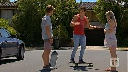 Daniel Robinson, Josh Willis, Amber Turner in Neighbours Episode 6887