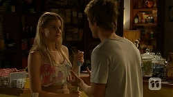 Amber Turner, Daniel Robinson in Neighbours Episode 6888