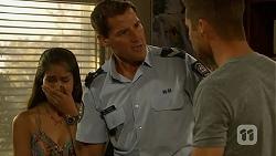 Sienna Matthews, Matt Turner, Mark Brennan in Neighbours Episode 6888