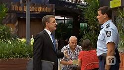 Paul Robinson, Matt Turner in Neighbours Episode 6888