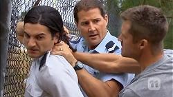 Dominik Kempka, Matt Turner, Mark Brennan in Neighbours Episode 6889