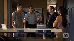 Mark Brennan, Matt Turner, Toadie Rebecchi, Sienna Matthews in Neighbours Episode 6889