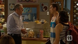 Karl Kennedy, Josh Willis, Imogen Willis in Neighbours Episode 6889