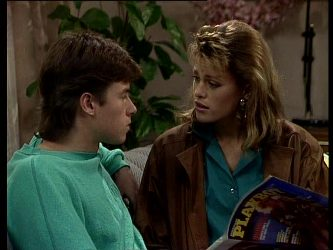 Mike Young, Cassie Campbell in Neighbours Episode 0291