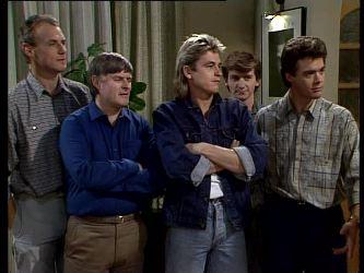 Jim Robinson, Tom Ramsay, Shane Ramsay, Danny Ramsay, Paul Robinson in Neighbours Episode 0293