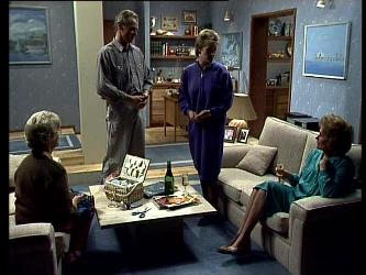 Helen Daniels, Jim Robinson, Daphne Lawrence, Madge Mitchell in Neighbours Episode 0293