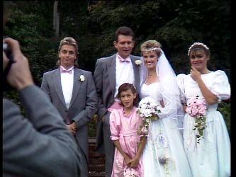 Shane Ramsay, Des Clarke, Lucy Robinson, Daphne Clarke, Zoe Davis in Neighbours Episode 0296