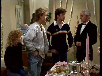 Charlene Mitchell, Scott Robinson, Mike Young in Neighbours Episode 0296
