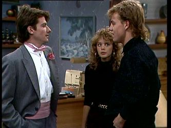 Danny Ramsay, Charlene Mitchell, Scott Robinson in Neighbours Episode 0296
