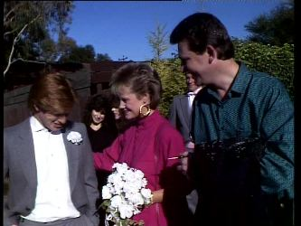 Clive Gibbons, Daphne Clarke, Des Clarke in Neighbours Episode 0296