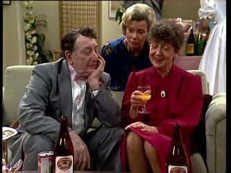 Harry Henderson, Helen Daniels, Nell Mangel in Neighbours Episode 0297