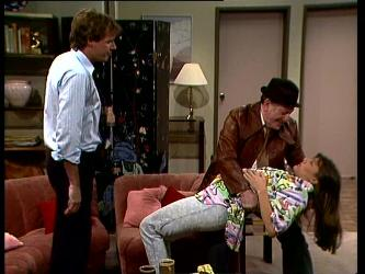 Tony Chapman, Harry Henderson, Zoe Davis in Neighbours Episode 0297