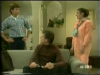 Mike Young, Graham Gibbons, Kate Gibbons in Neighbours Episode 0299