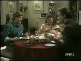 Clive Gibbons, Kate Gibbons, Graham Gibbons in Neighbours Episode 0301