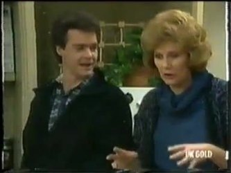 Paul Robinson, Madge Bishop in Neighbours Episode 0303