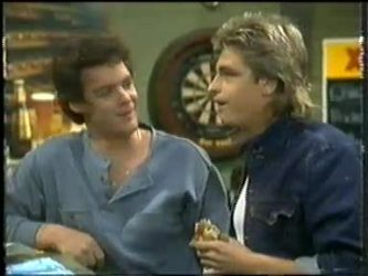 Paul Robinson, Shane Ramsay in Neighbours Episode 0304