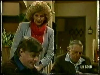 Tom Ramsay, Madge Bishop, Dan Ramsay in Neighbours Episode 0332