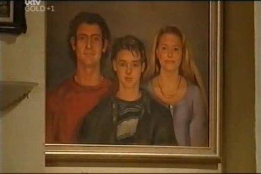 Malcolm Kennedy, Billy Kennedy, Libby Kennedy in Neighbours Episode 4403