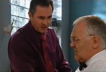 Karl Kennedy, Harold Bishop in Neighbours Episode 4420