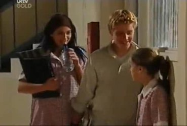 Sky Mangel, Boyd Hoyland, Summer Hoyland in Neighbours Episode 4422